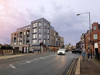 Kings Arms, Woolwich - CGI of approved scheme for the Kings Arms