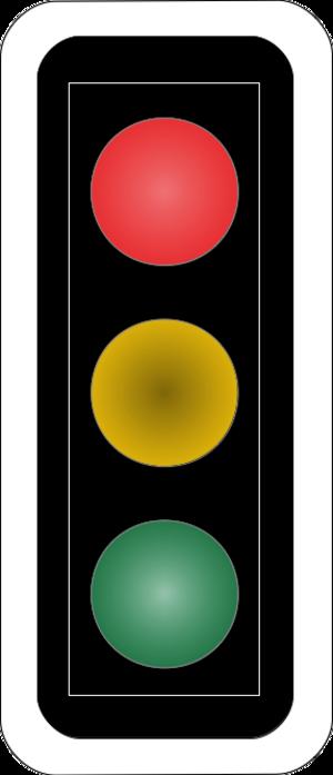 Road signs in Switzerland and Liechtenstein - Image: CH SSV Lichtsignal Art 68 Vertikale Anordnung