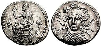 Balakros - Image: CILICIA, Tarsos. Balakros, Satrap. 333 323 BC