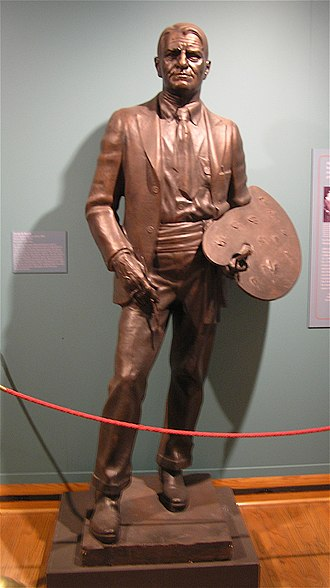 Charles Marion Russell (Weaver) - Version in the Montana Historical Society's MacKay Collection, in Helena, Montana