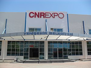 CNR Yenişehir Exhibition Center, Mersin, Turkey.JPG