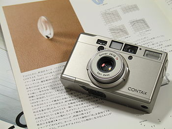 an APS compact camera by KYOCERA