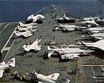 CVW-9 aircraft on USS Enterprise (CVAN-65) c1966.jpg