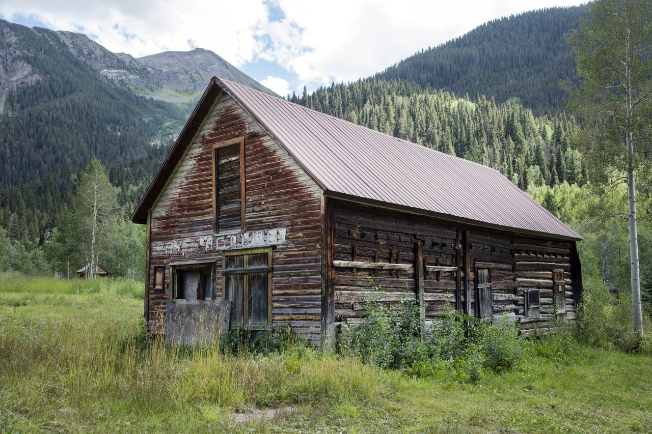 file cabin in crystal colorado a virtual ghost town in a