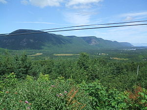 Cabot Trail - Sunrise Valley, Cape North in 2010.