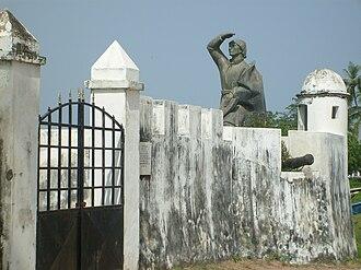 Cacheu Region - Cacheu Statues