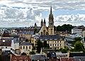 Caen Château de Caen Blick auf Caen 3.jpg
