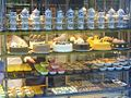 Cake displayed in shop in Istanbul city.JPG