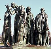 Calais statue bourgeois