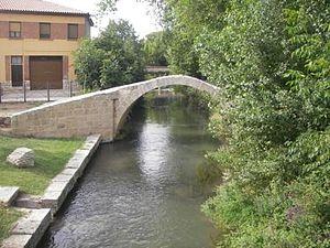 Jiloca (river) - The Jiloca in Calamocha, Teruel