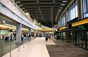 Calgary International Airport - Inside the domestic terminal