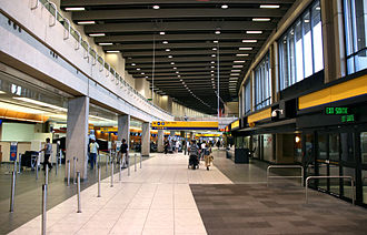 Calgary International Airport - Inside the domestic terminal