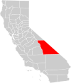 California county map (Inyo County highlighted).svg