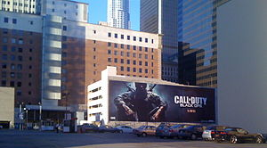 Call of Duty: Black Ops billboard.