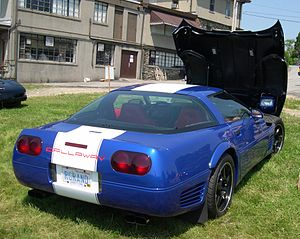 Callaway Cars - Supernatural 450 Grand Sport based on Chevrolet Corvette C4.