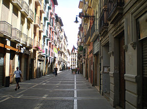 Calle Mayor de Pamplona.JPG