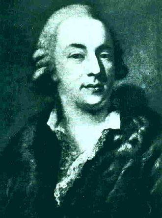 Giacomo Casanova - Portrait of Casanova by Alessandro Longhi