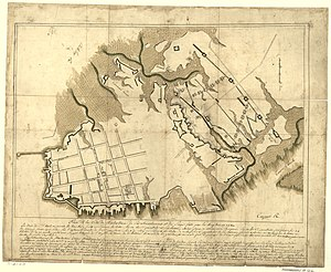 Louis Antoine Cambray-Digny - Map of Charleston by Colonel de Cambray.  Library of Congress.