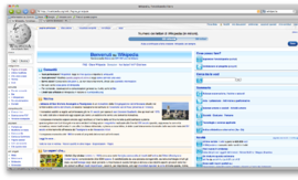 Screenshot di Camino (browser)