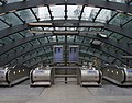 Canary Wharf tube station MMB 10.jpg