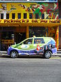 Cape Town Excite Taxi Cab in South Africa on Long Street.jpg