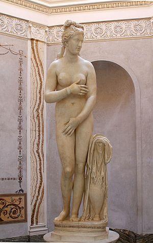 Capitoline Venus - The Capitoline Venus (Capitoline Museums).