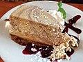 Caramel cheesecake at Creekbread (44802317704).jpg