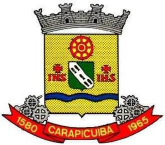 Carapicuíba - Image: Carapicuiba brasao