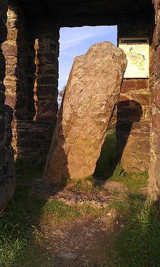 Caratacus Stone - Image: Caratacus Stone in May 2014