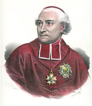 Spring Hill College - Cardinal Joseph Fesch, an early benefactor of the College.