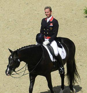 Carl Hester British dressage rider