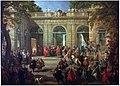 Carlo di Borbone visita il papa Benedetto XIV nella coffee-house del Quirinale, Pannini 001.jpg