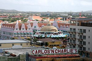 Disappearance of Natalee Holloway - Carlos'n Charlie's in Oranjestad, Aruba. The restaurant was the last place Holloway was seen by her classmates.