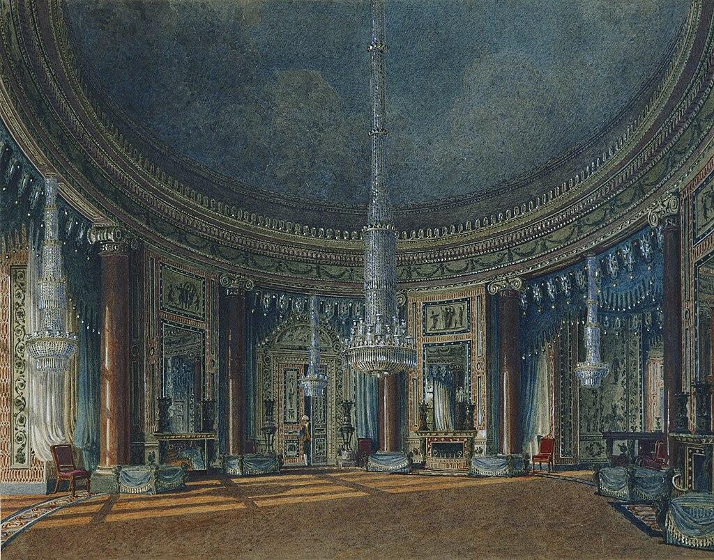 Карлтон - Хаус, Круглая комната, Чарльз Уайлд, 1817- royal coll 922177 313731 ORI 2.jpg