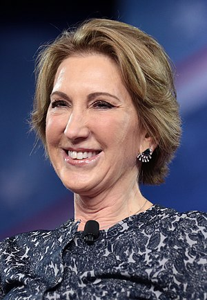 Carly Fiorina - Fiorina at the Conservative Political Action Conference in February 2017
