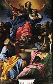 Assumption of the Virgin Mary, in Santa Maria del Popolo, Rome.
