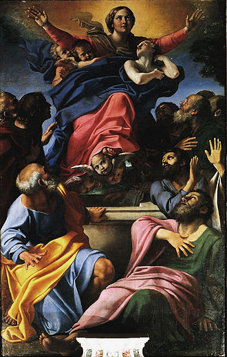 Conversion on the Way to Damascus - Image: Carracci Assumption of the Virgin Mary