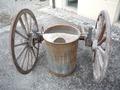 Carretto per il trasporto del latte - Musei del cibo - Parmigiano - 296d.tif