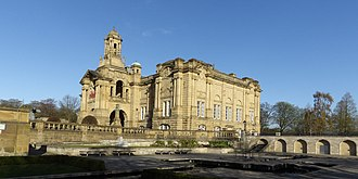 Lister Park - Image: Cartwright Hall from southeast