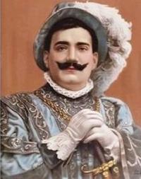 Enrico Caruso en 1912 dans Rigoletto de Giuseppe Verdi.