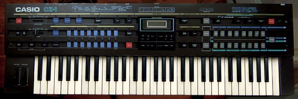 casio cz synthesizers wikipedia rh en wikipedia org Casio CZ 5000 Synthesizer Casio CZ 5000 Synthesizer