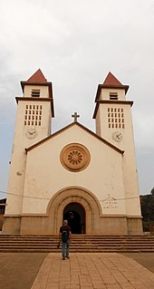 Bissau Cathedral church in Bissau, Guinea-Bissau
