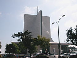 Cathedral Hill, San Francisco, St Mary's.JPG
