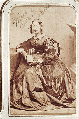 Catharine Beecher - Catharine Beecher, ca. 1858-1862