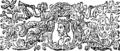 Catonis Disticha moralia, et Lilii Monita pædagogica; or, Cato's Moral distichs, and Lily's Pædagogical admonitions Fleuron T186225-1.png