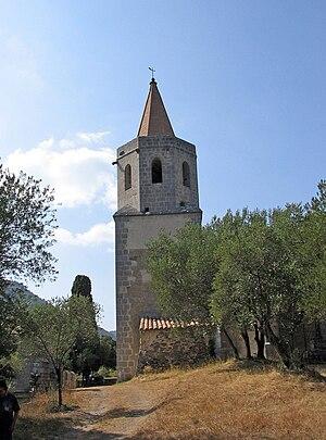 Caudiès-de-Fenouillèdes - The church of Our Lady of Laval, near Caudiès-de-Fenouillèdes