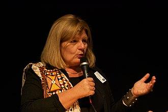 Cecilia Uddén - Cecilia Uddén during the Göteborg Book Fair in September 2011