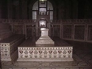 Mumtaz Mahal - Cenotaph of Mumtaz Mahal.