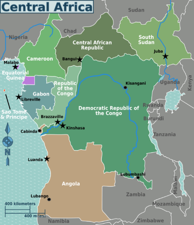 Central Africa Travel Guide At Wikivoyage
