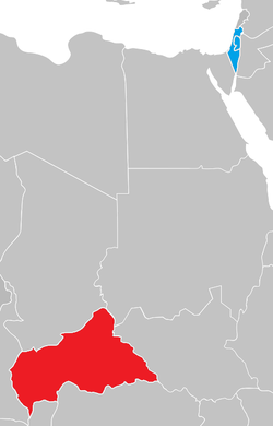 Central African Republic Israel Locator.png